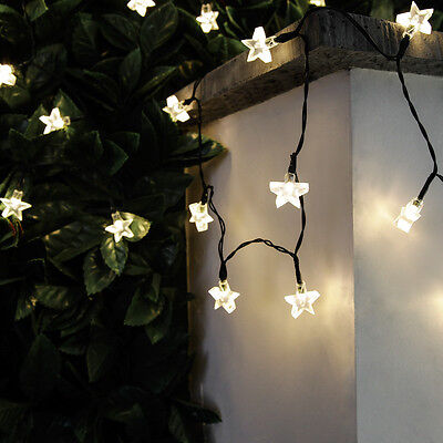 50-100 Led Solar Power Outdoor Garden Patio Party Star 5-10M Fairy String Lights