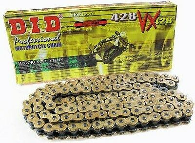 DID 428 VX GB X-Ring Gold Supersport Motorcycle Drive Chain ( All lengths )