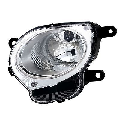 Fiat 500 2008-2017 High Beam Headlight & Side Light Lamp Passenger Side N/s