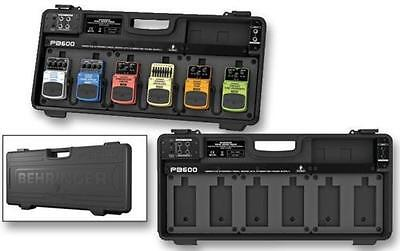Behringer PB600 Guitar Effects Pedal Board.1.7A Built-In Power Adaptor.