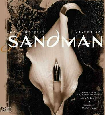 Annotated Sandman HC Vol 01 by Neil Gaiman (English) Hardcover Book Free Shippin