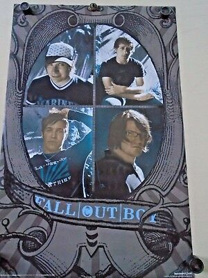 """Fall Out Boy / Orig.vintage Poster / #1203 / Exc. new cond. / approx. 22 x 34"""""""