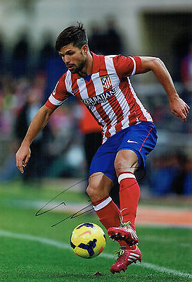 Diego Ribas da CUNHA Signed Autograph Athletico Madrid Football Photo AFTAL COA