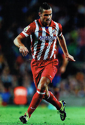 Mario SUAREZ Signed Autograph Athletico Madrid Football Photo AFTAL COA
