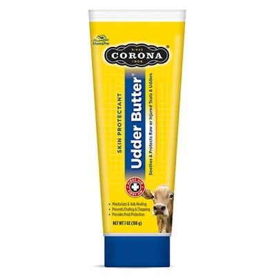 Corona Udder Butter Ointment Horse Cattle Soothes Protects Heals Teats Udders