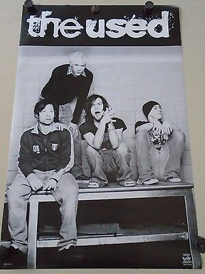 """The USED - Original Vintage Poster """"2002""""  B&W #6582 / Exc new cond.- 22x34"""""""