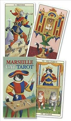Marseille Cat Tarot by Lo Scarabeo (English) Free Shipping!