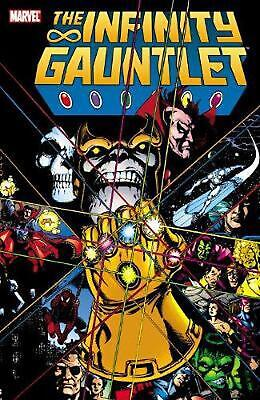 Infinity Gauntlet by Jim Starlin (English) Paperback Book Free Shipping!