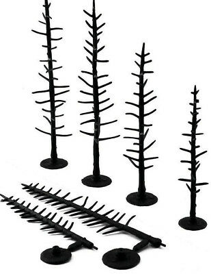 "Woodland Scenics Tree Armatures (Trunks) Conifer/Pine 4"" to 6"" 44-Pack"