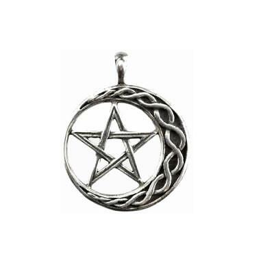Stability Wicca Amulet - Pewter