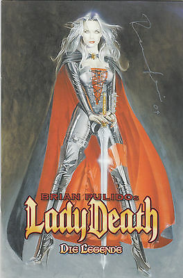 LADY DEATH: DIE LEGENDE # 5 RAUFEISEN-VARIANT - *sign-*  COMIC ACTION 2004 - TOP