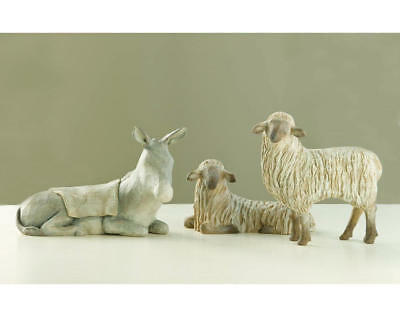 "Demdaco - Willow Tree Figurine - ""Gentle Animals of the Stable"""