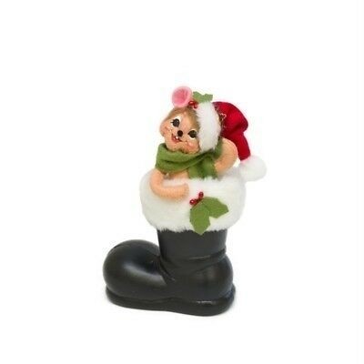 """Annalee -  Mouse in Santa's Boot 5"""""""