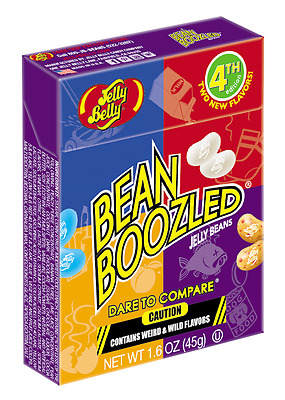 BOX BEAN BOOZLED JELLY BEANS  1.6oz  JELLY BELLY. HIGH DEMAND!!