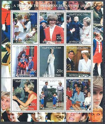 (051504) Royalty, Diana, Kyrgyzstan - private issue -