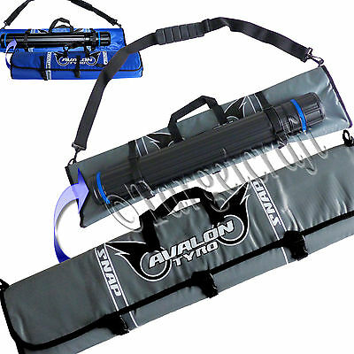 Bow case Avalon Tyro Snap 3 levels roll-up recurve soft bag