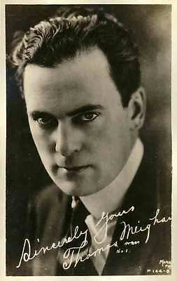 1920 THOMA MEIGHAN Silent Film Actor RPPC REAL PHOTO postcard