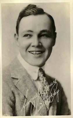1920 CHARLES RAY Silent Film Actor RPPC REAL PHOTO postcard