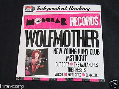 Wolfmother/avalanches 'Modular Sampler' 2006 Cd—Sealed