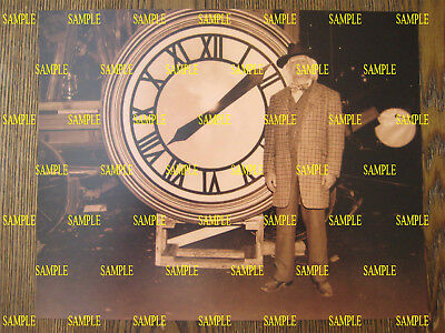 """Back to the Future 3 - Doc and Clock - Photo Print - 8"""" x 10"""" - B2G1F"""