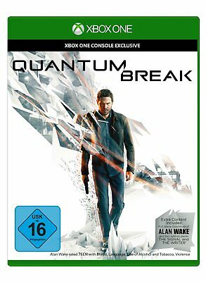 Quantum Break (inkl. Alan Wake DLC)   XBOX One    XB One    !!!!! NEU+OVP !!!!!