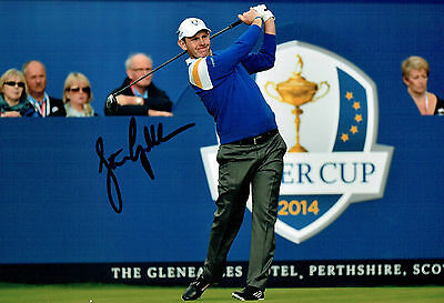Stephen GALLACHER SIGNED Autograph 12X8 Photo AFTAL COA Ryder Cup Scotland 2014