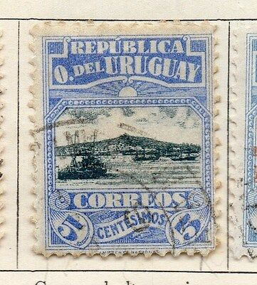 Uruguay 1919 Early Issue Fine Used 5c. 055458