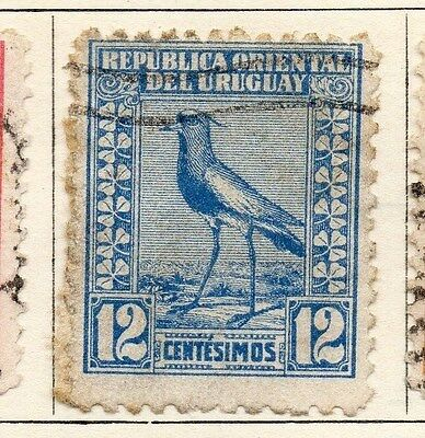 Uruguay 1923 Early Issue Fine Used 12c. 055479