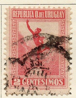 Uruguay 1923 Early Issue Fine Used 2c. 055472