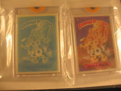 1987 Topps Garbage Pail Kids Acetate Proof Set #374a