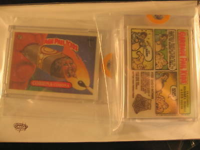 1987 Topps Garbage Pail Kids Acetate Proof Cards #300A