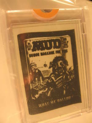 1980 Topps Wacky Packages Negative Mud