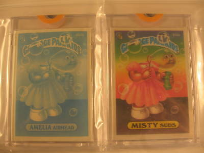 1987 Topps Garbage Pail Kids Acetate Overlay Proof #350