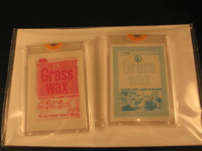 1973 Topps Wacky Packages Series 4 Proofs Grass Wax