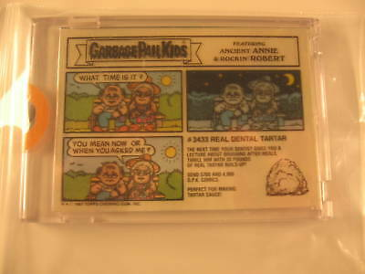 1986 Topps Garbage Pail Kids Ser 10 Acetate Proof #411b