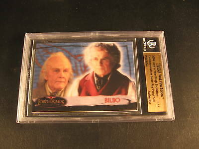 2006 Topps Vault Lord of Rings Proof #3B BGS 1/1