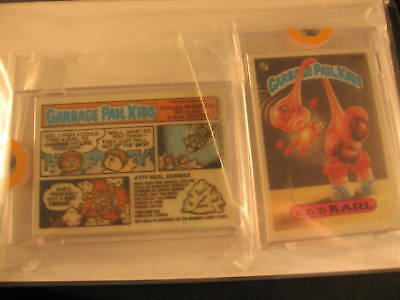 1987 Topps Garbage Pail Kids Acetate Proof Set #322A