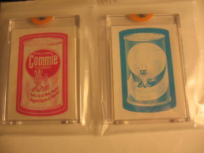 1973 Topps Wacky Packages Series 4 Proof Commie
