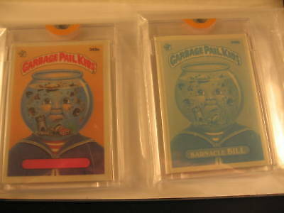 1987 Topps Garbage Pail Kids Acetate Proof Set #349a