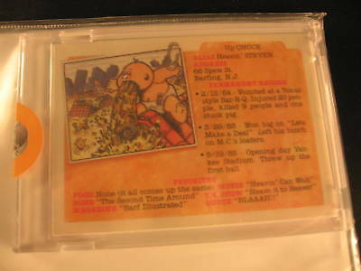 1986 Topps Garbage Pail Kids Ser 5 Acetate Proofs #189b
