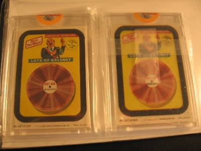 1980 Topps Wacky Packages Proof Card & Acetate Set #227