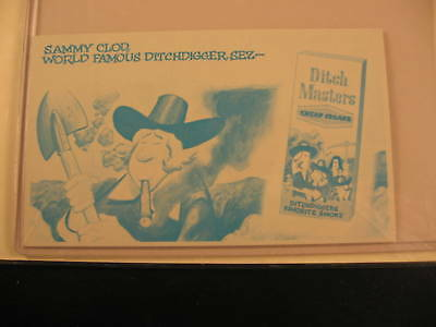1969 Topps Wacky Packages Ads Proof Card Ditch Masters
