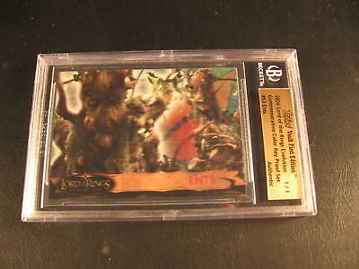 2006 Topps Vault Lord of Rings Proof #53 BGS 1/1
