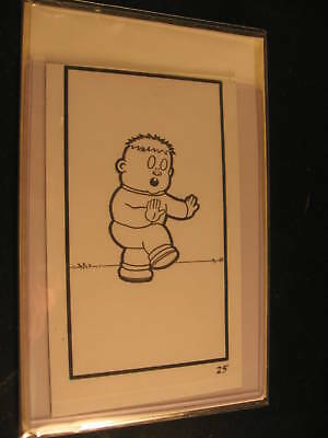 1989 Topps Garbage Pail Kids Series 16 Original Art #25