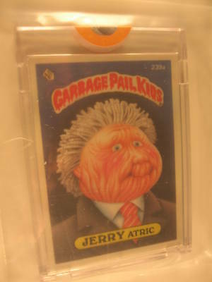 1986 Topps Garbage Pail Kids Series 6 Proof Set #239A