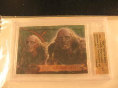 2006 Topps Vault Lord of the Rings Proof #24 BGS 1/1