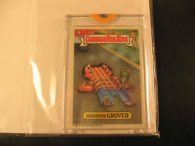 1986 Topps Garbage Pail Kids Series 10 Proof #395A
