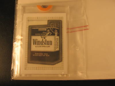 1986 Topps Wacky Packages Transparency Windstun