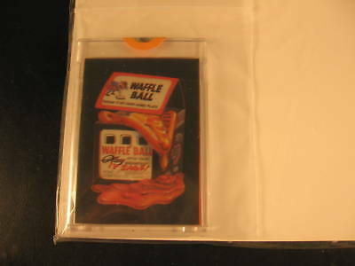 1985 Topps Wacky Packages Acetate Proof Card Set #25