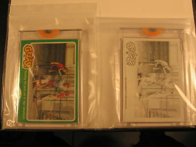1978 Topps Grease Movie (2) Proof Card Set #94